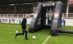 Bath schoolchildren prepare for 2018 World Cup with penalty shootout
