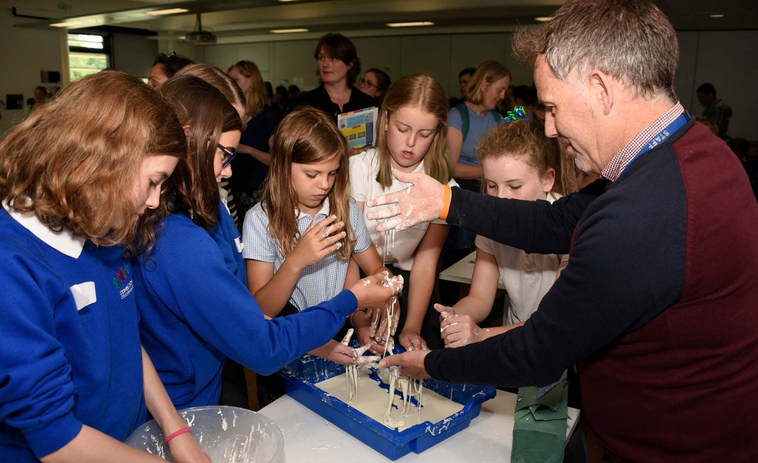 Local schools take part in the Great Science Share at Bath Spa University