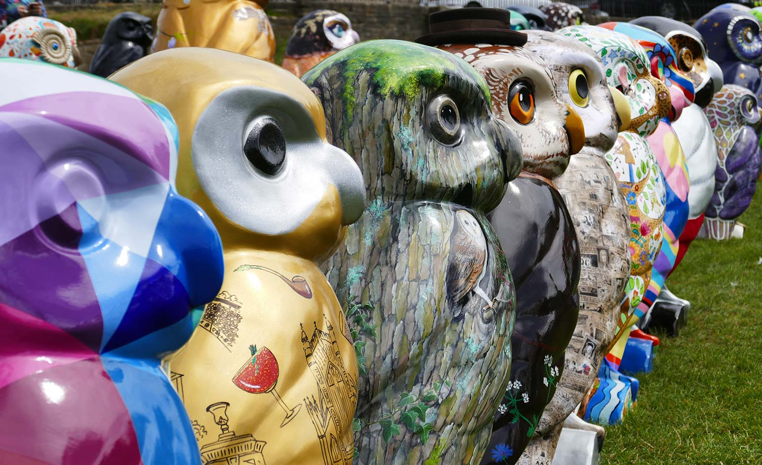 Minerva's Owls of Bath sculptures set to be auctioned for local charities