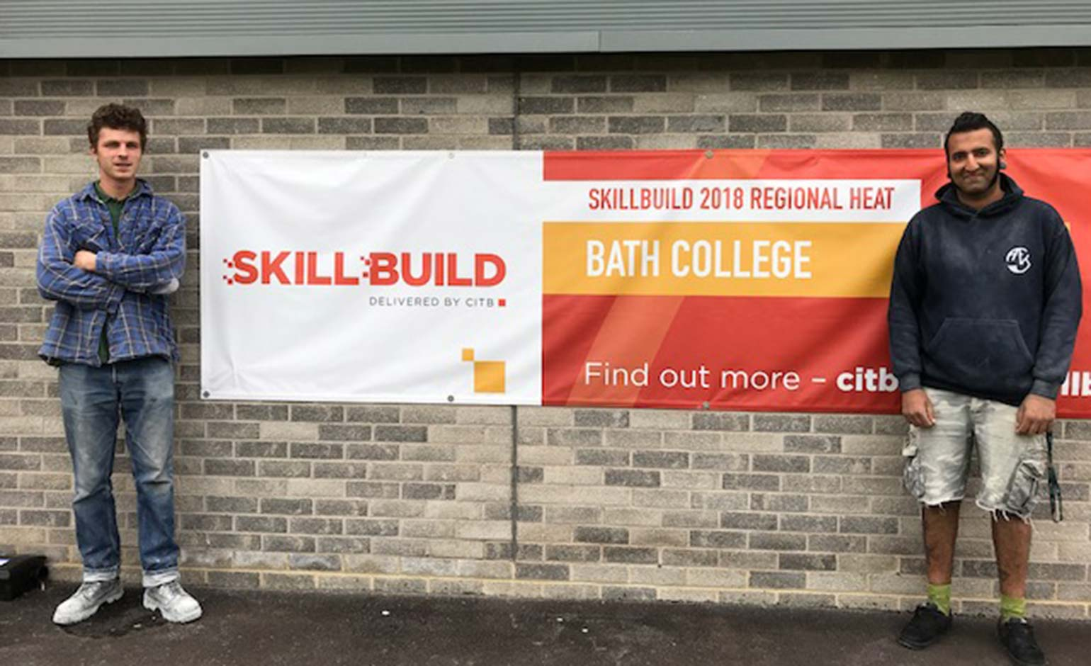 Bath students win first and second place in SkillBuild Stonemasonry competition