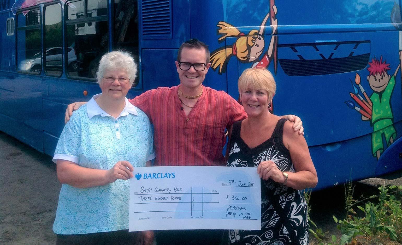 Popular Community Bus gets £300 funding boost in Peasedown St John
