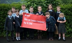 Lights go green at Roundhill Primary School in Bath thanks to E.ON grant
