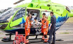 Air ambulance charity receives £250,000 donation towards new air base