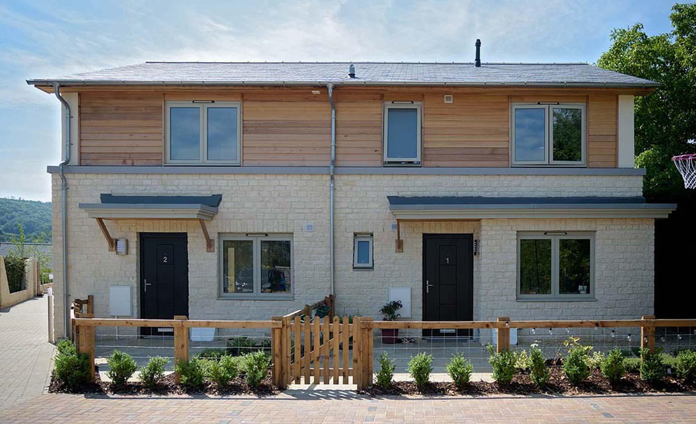 Liverty celebrates Rural Housing Week at Bathampton housing scheme