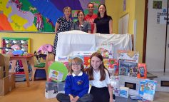 Wiltshire family thanks RUH's Children's Ward with new toys and games