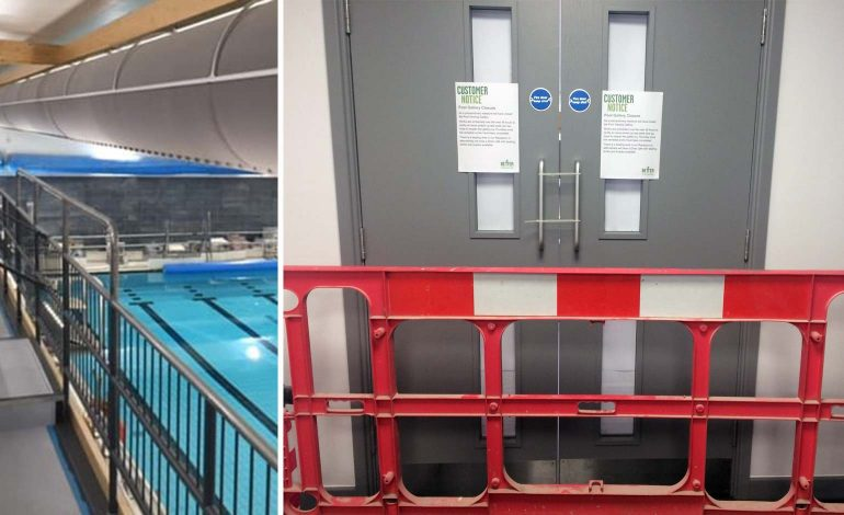 Council aware of dangerous swimming pool gallery months before reopening