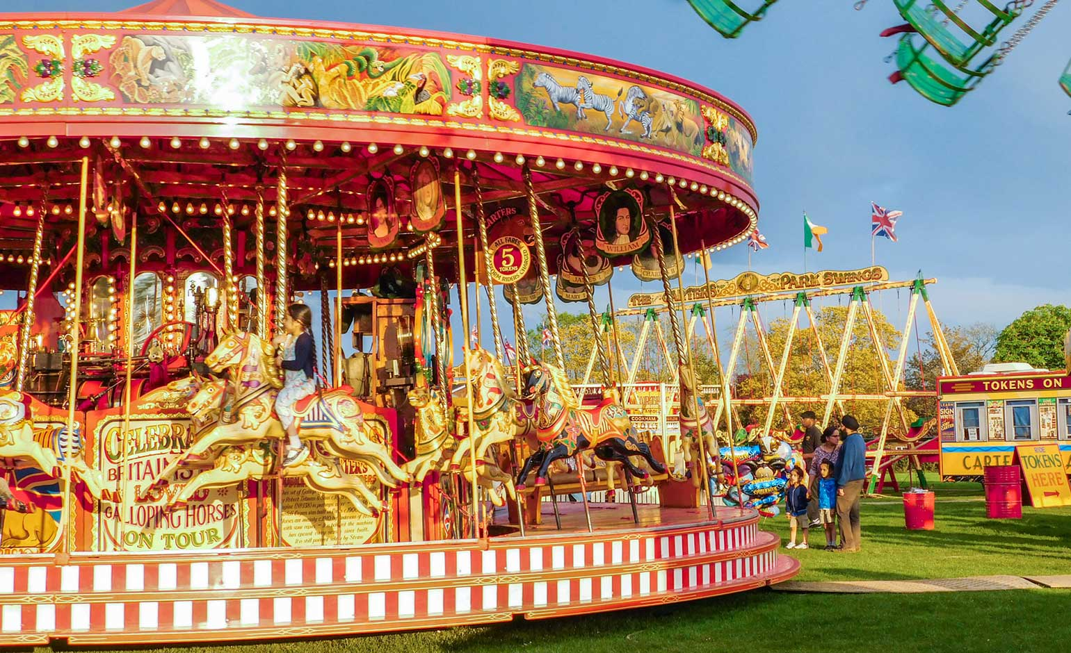 Residents encouraged to get creative at the Carters Steam Fair in Bath