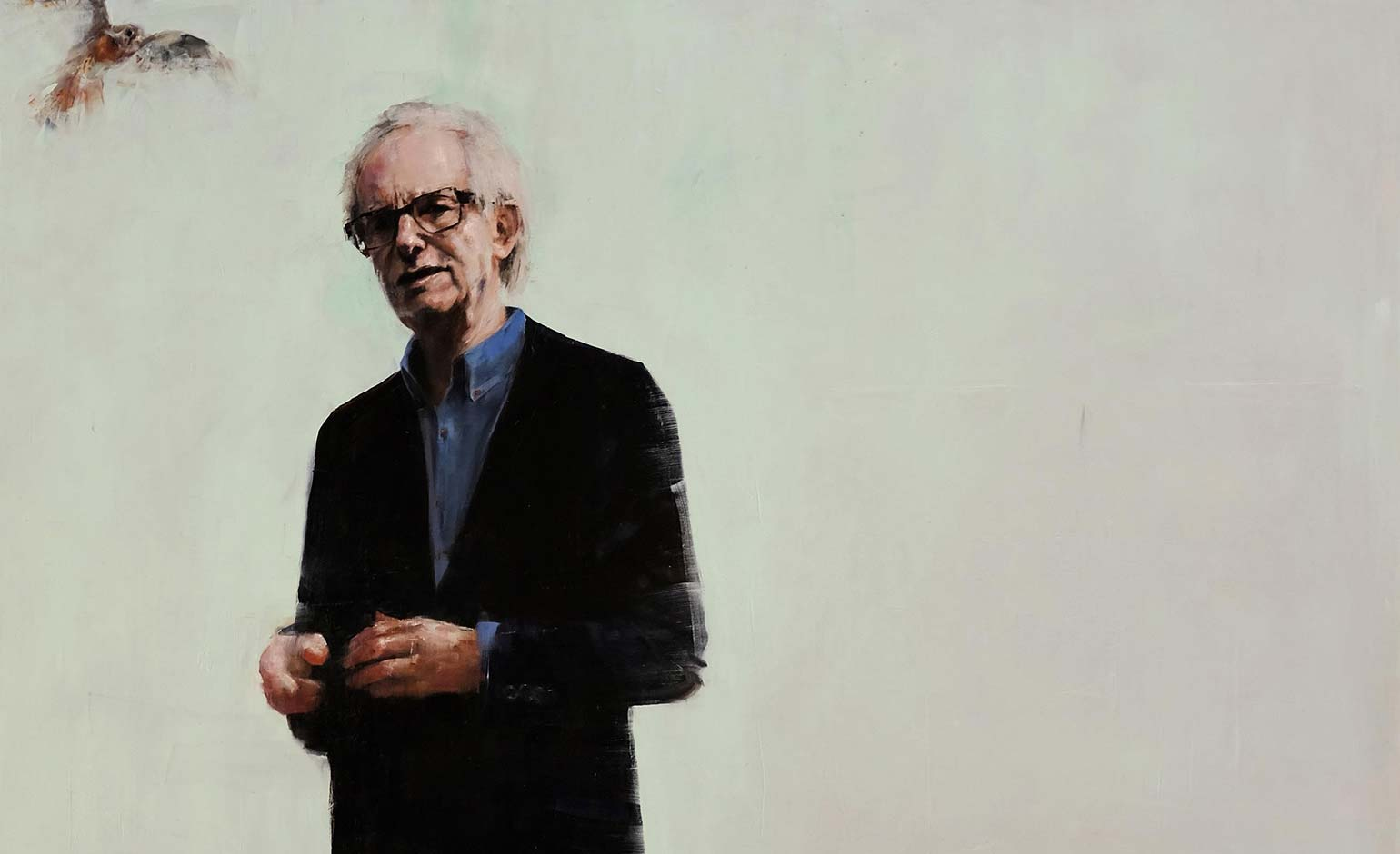 Ken Loach portrait by Richard Twose to go on show at Victoria Art Gallery