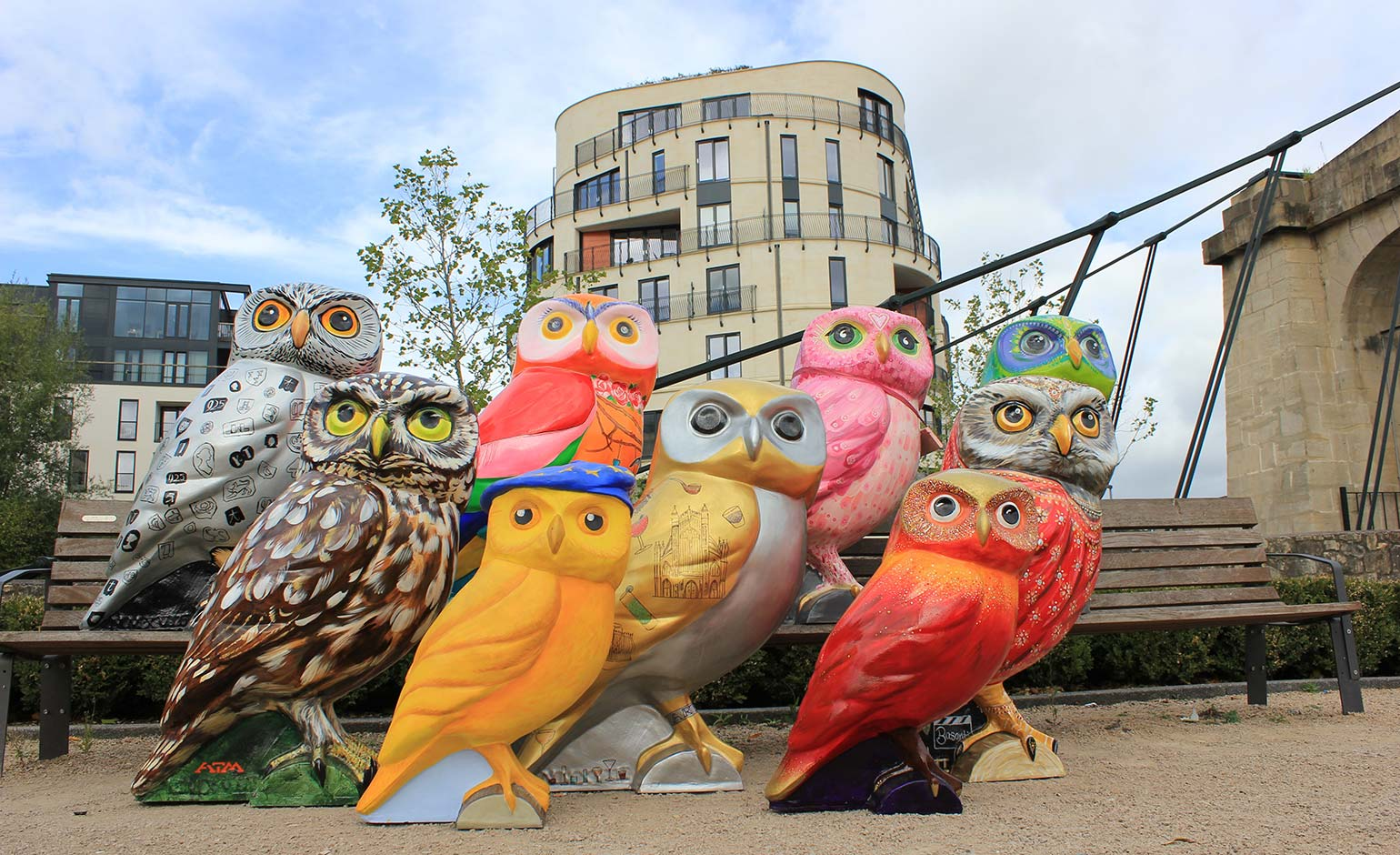 Royal View for Minerva's Owls in Bath ahead of charity auction next month