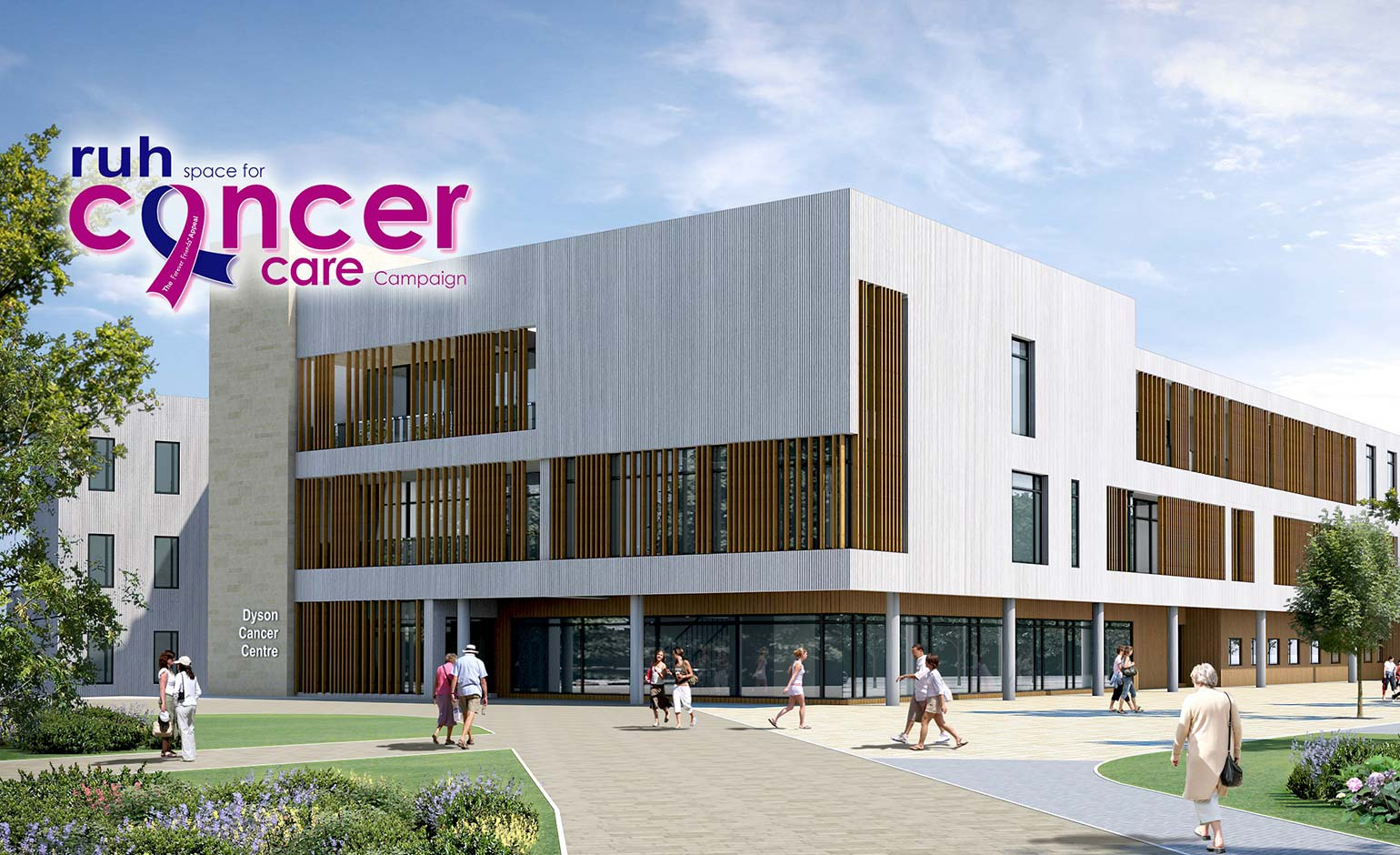 Over 163 9 Million Raised For New Dyson Cancer Centre At The Ruh In Bath Bath Echo