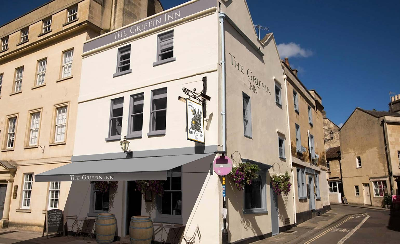 Cornwall's St Austell Brewery buys the Griffin Inn on Monmouth Street
