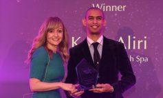 Gainsborough Bath Spa manager Kabir Aliri  receives prestigious hotel award