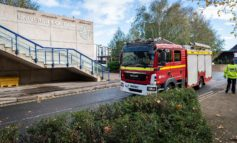 University of Bath and Avon Fire & Rescue join forces for live training drill