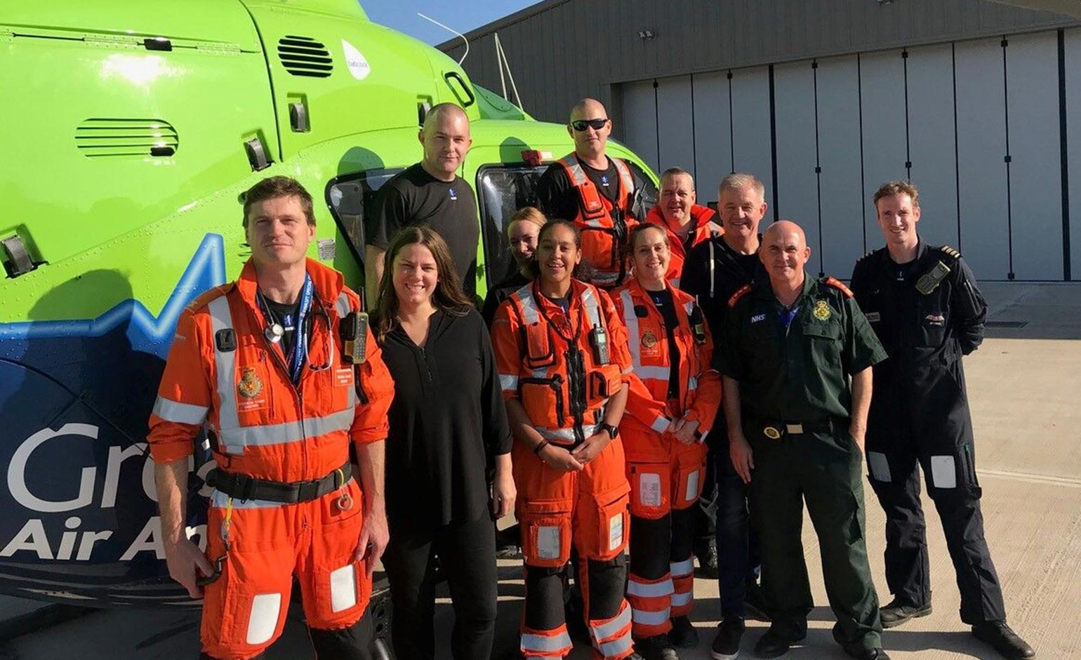 Air ambulance charity reaches fundraising target to purchase new air base