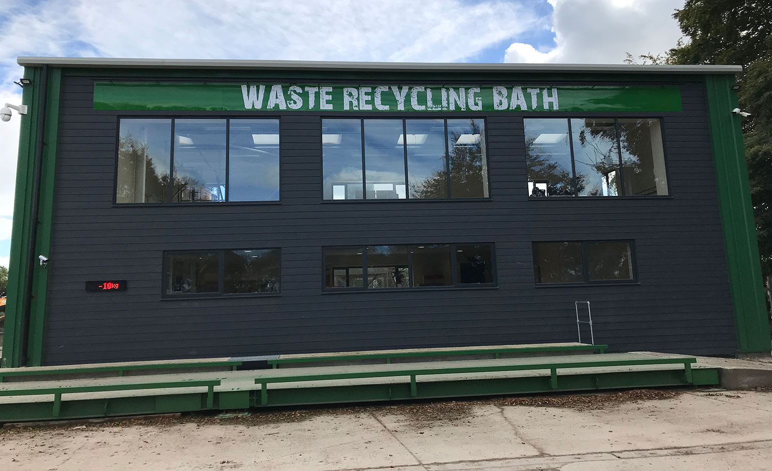 Redevelopment sees reopening of Odd Down waste recycling site in Bath