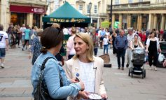 Bath MP Wera Hobhouse thanks team after completion of 6000 cases