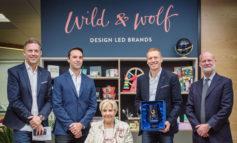 Bath-based Wild & Wolf presented with prestigious trade enterprise award