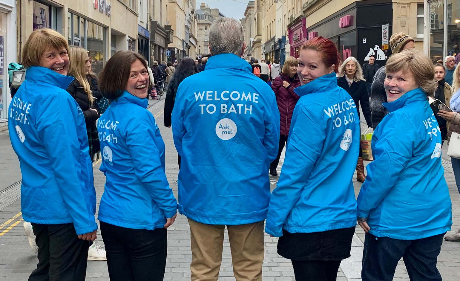 Bath Welcome Ambassadors to hit the streets guiding visitors and tourists
