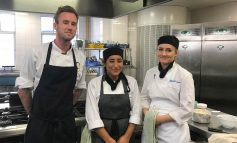 Bath College's Hospitality and Catering students tutored by top pastry chef