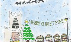 Bath MP Wera Hobhouse announces Christmas card competition winner