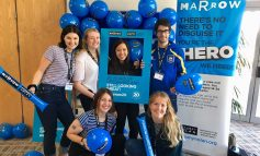 Bath students help blood cancer charity celebrate 20 years of lifesaving