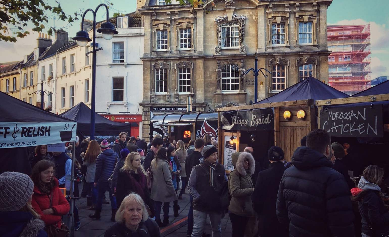 Bath's Kingsmead Square set to welcome back festive street food market