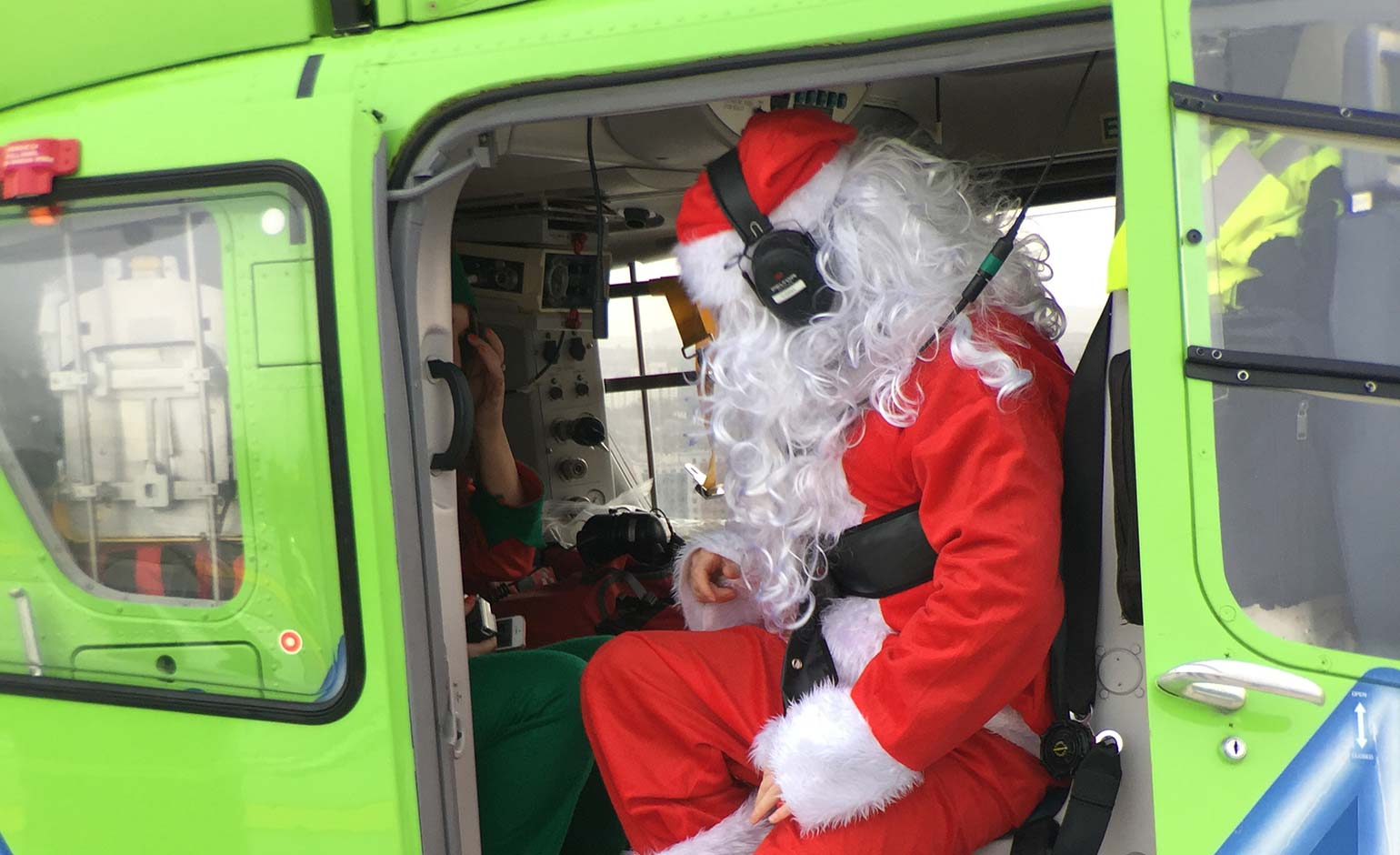 Great Western Air Ambulance seeking young patients for Christmas party