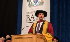England cricketing stars receive Honorary Degrees from the University of Bath