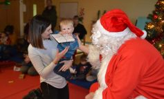 Christmas comes early for children at the RUH with surprise Santa visit
