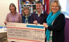 £3500 boost helps local foodbank ensure no one goes hungry this Christmas