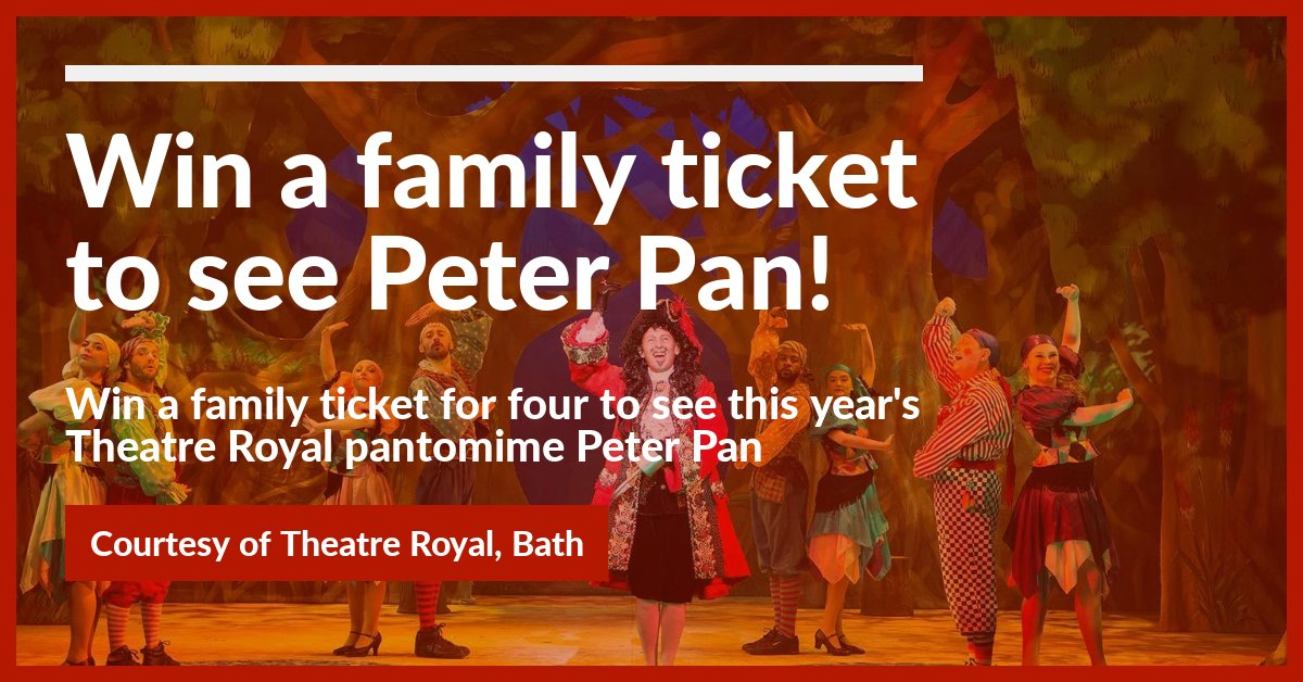Win a family ticket for Peter Pan at the Theatre Royal!