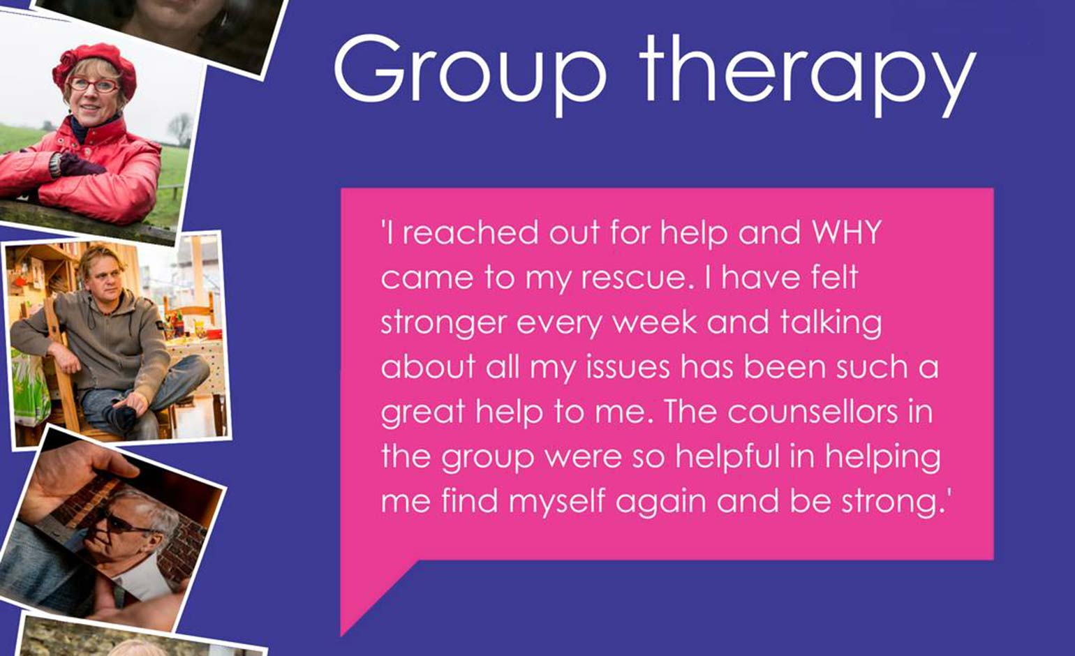 Free group counselling on offer for people living with and beyond cancer