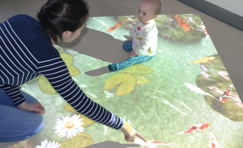 'Magic carpet' machine set to entertain patients at RUH's Children's Unit