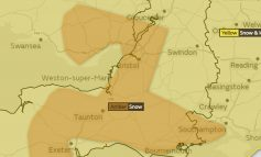 Met Office issues amber 'risk to life' heavy snow warning for the Bath area