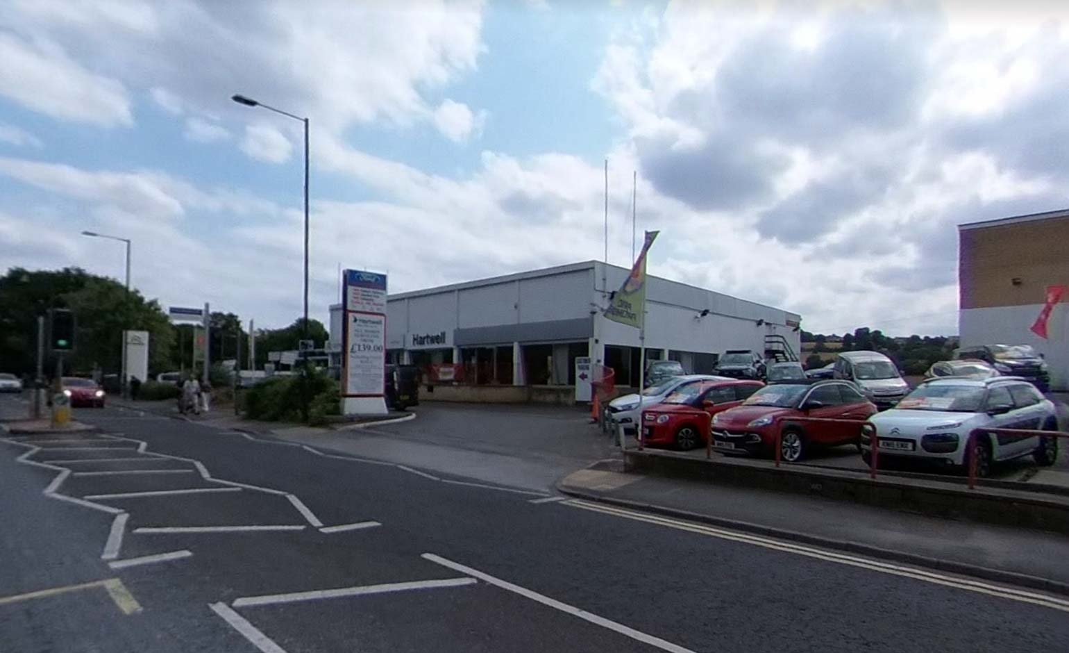 Views sought on proposals to redevelop Hartwell Garage site in Newbridge