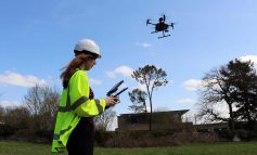 Drones take to the sky above Bath to help Wessex Water teams detect leaks