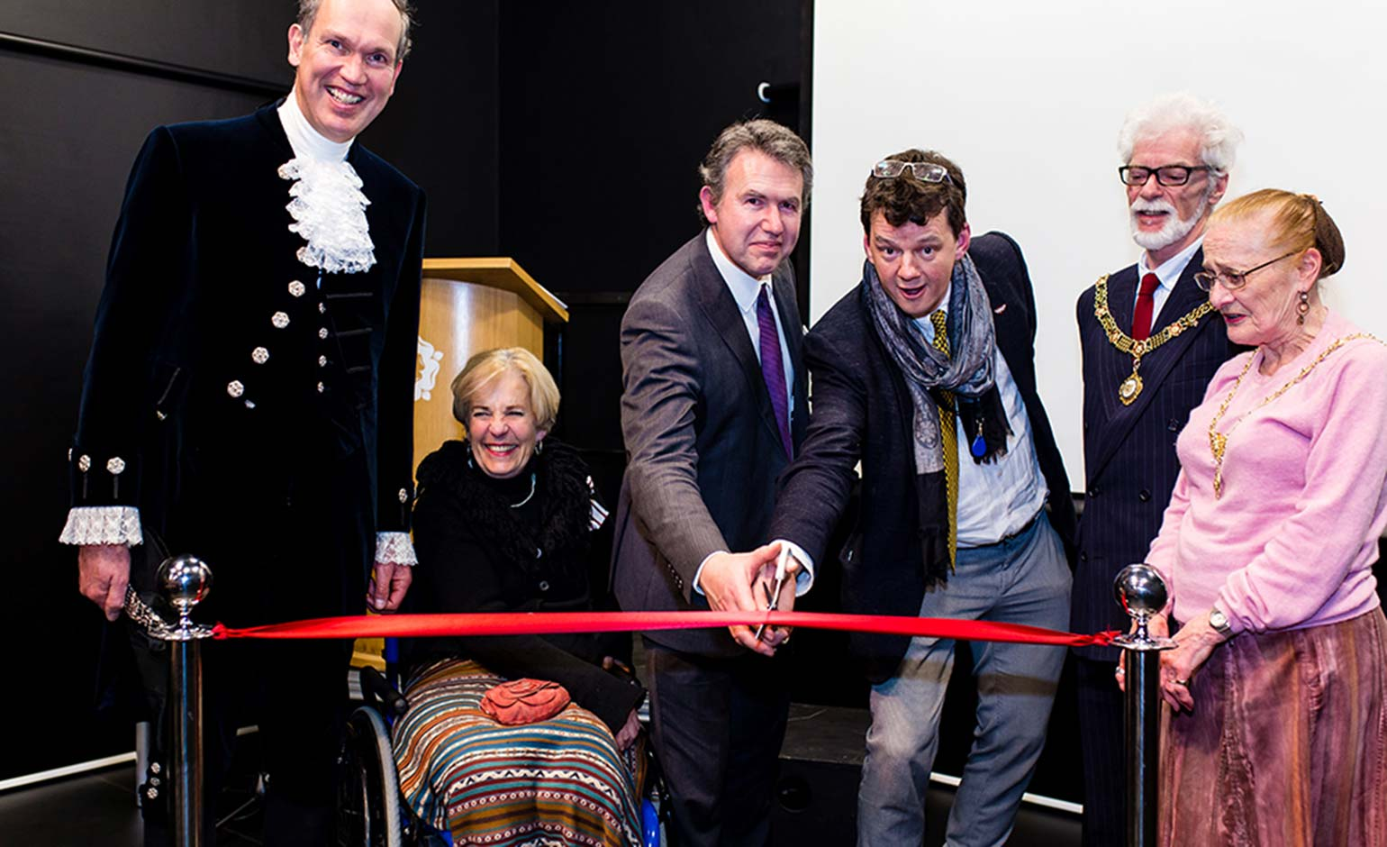 New state-of-the art drama centre opened at King Edward's School in Bath
