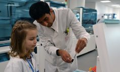 Six-year-old with leukaemia becomes scientist for a day at the RUH in Bath