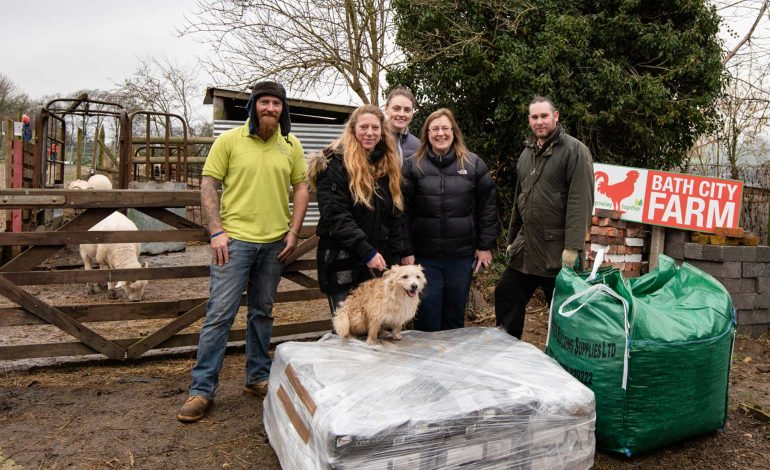 New animal pens on the way at Bath City Farm thanks to generous donation
