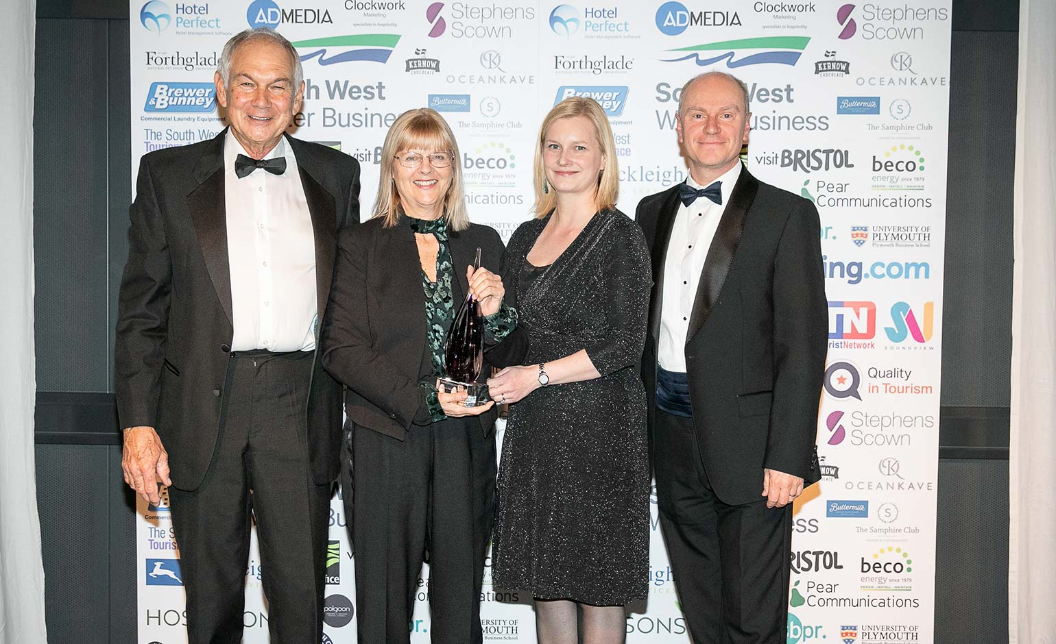 Historic Roman Baths & Pump Room wins three South West Tourism Awards