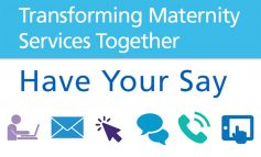 Last chance to have say on proposals to transform local maternity services