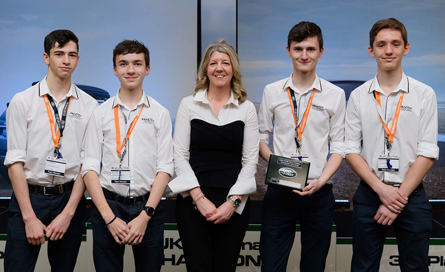 KES team announced as joint Land Rover 4x4 in Schools UK Champions