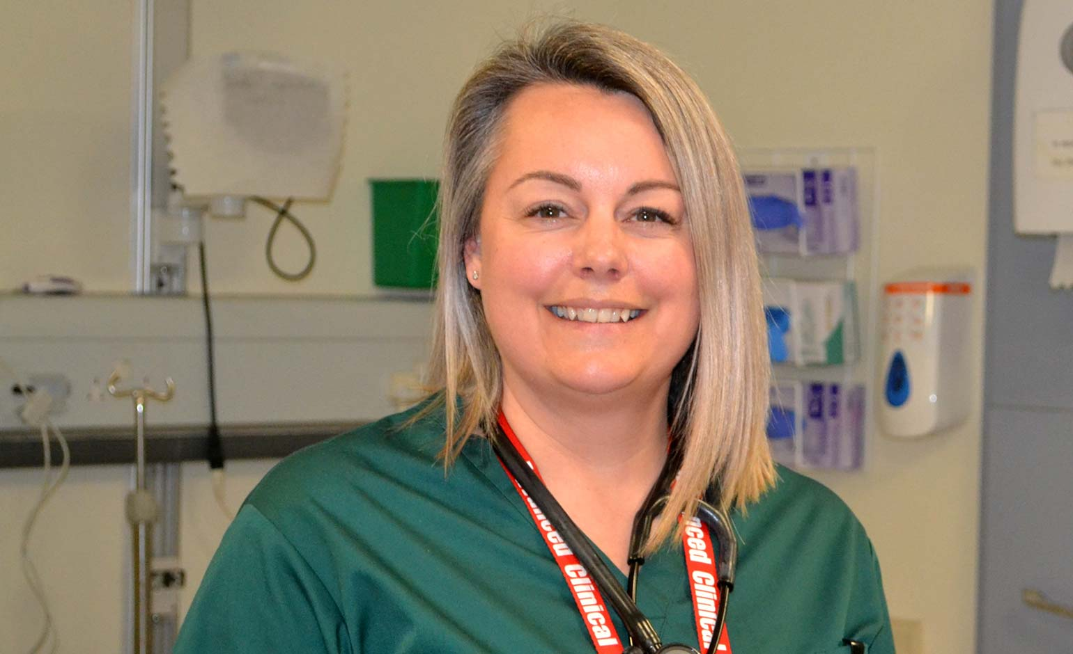 RUH nurse honoured for saving motorcyclist's life following serious collision