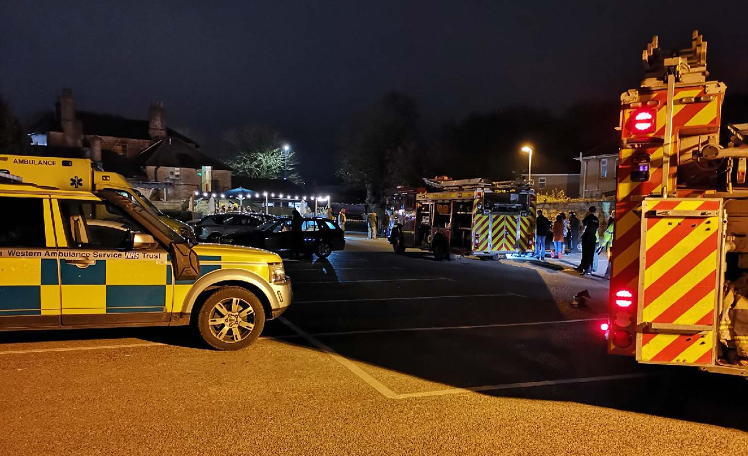 Over 20 people treated following chemical spillage at Red Lion pub in Bath