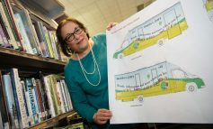 Work gets underway to fit out brand new £120k mobile library for B&NES