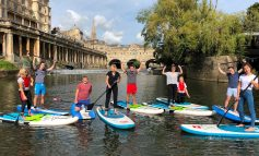 New paddleboarding venture launches at Riverside development in Bath