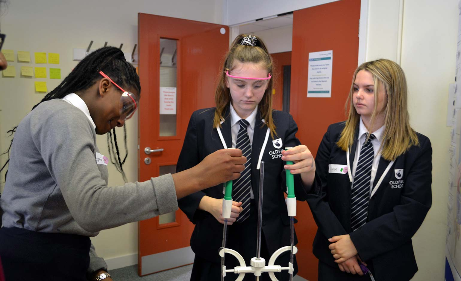 Sixth form students get hands on with scientific activities at RUH in Bath
