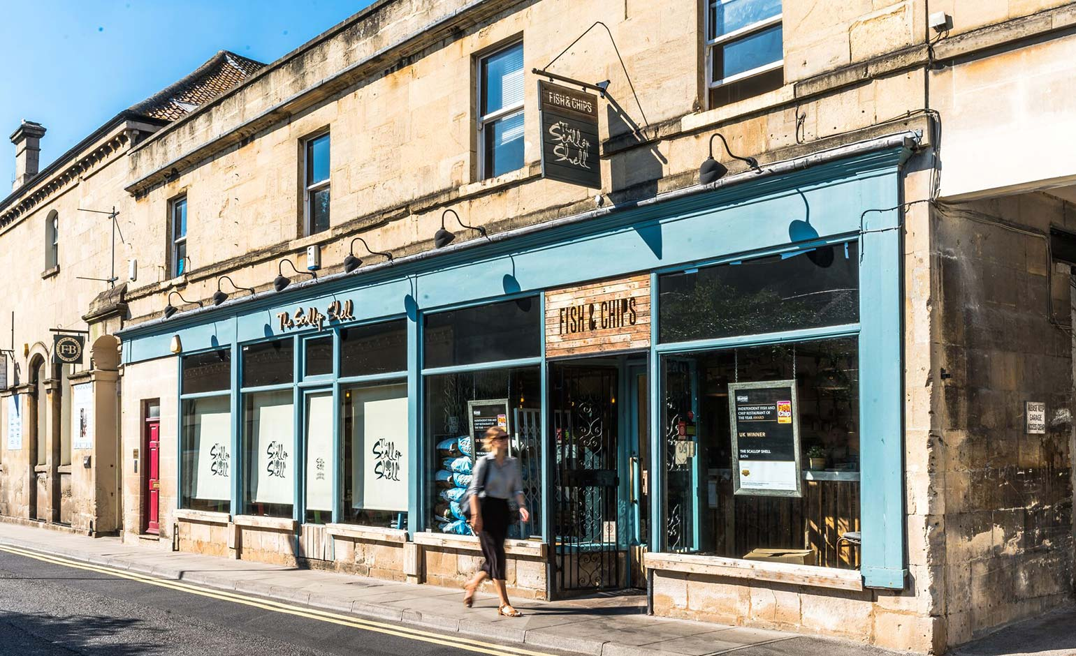 The Scallop Shell in Bath named one of the UK's best fish & chip restaurants