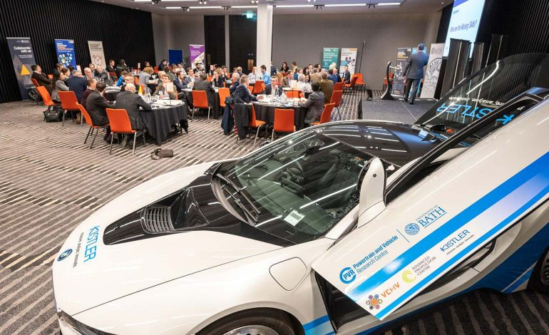 University of Bath hosts first networking event for the automotive industry
