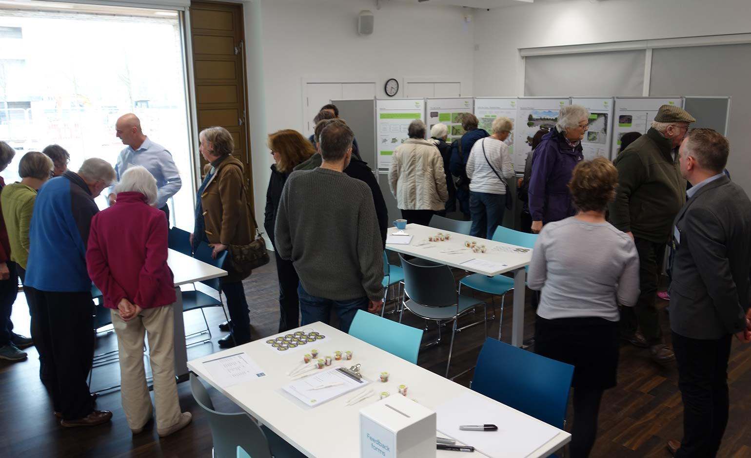 Over 200 people visit exhibition to see proposals for new open space in Bath